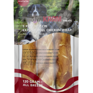 Expanded rool chicken wrap